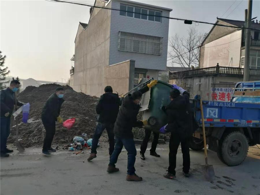 小池镇:抗击疫情,基层党员在行动