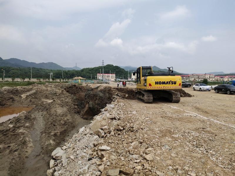 G105太湖段城西支线项目建设稳步推进