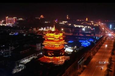 五千年文博园夜景
