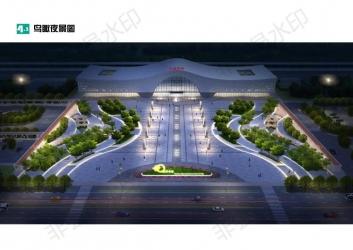 太湖南站站前广场景观设计方案批前公示