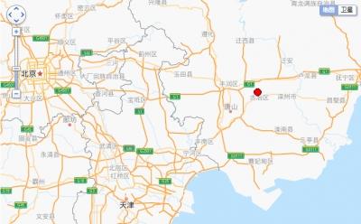 河北唐山发生5.1级地震 震源深度10千米